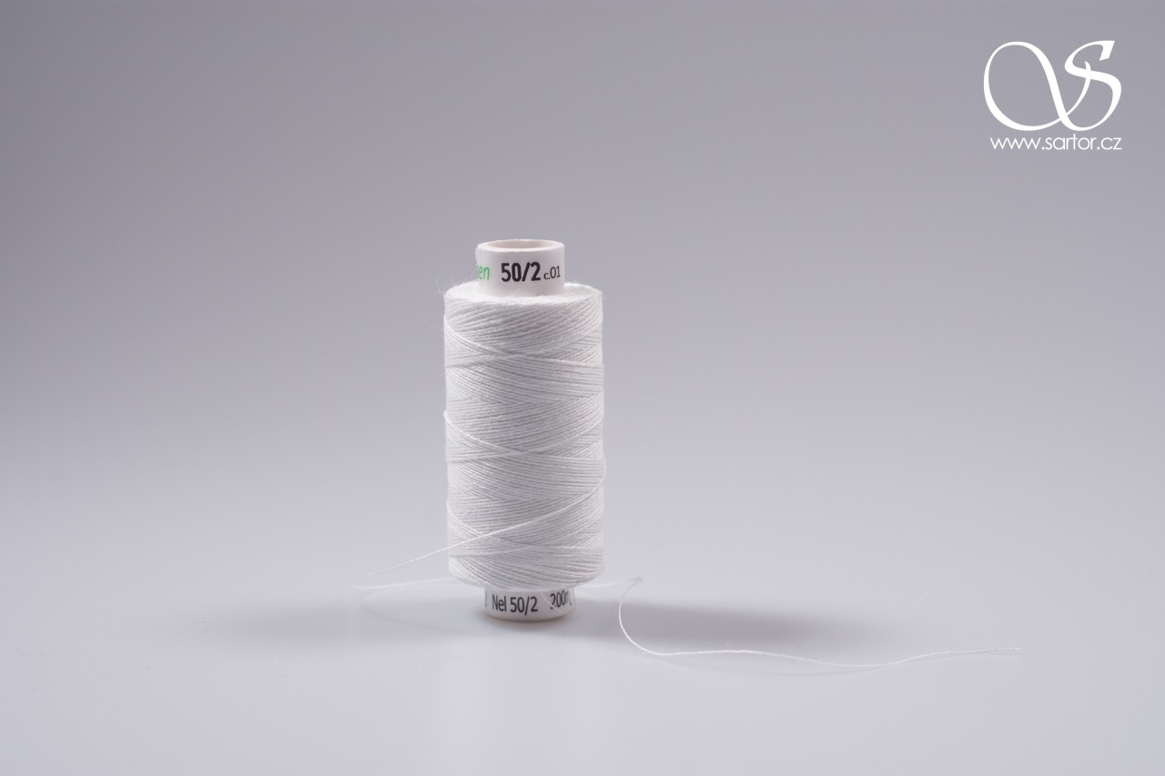 Linen thread, medium, 33 X 2