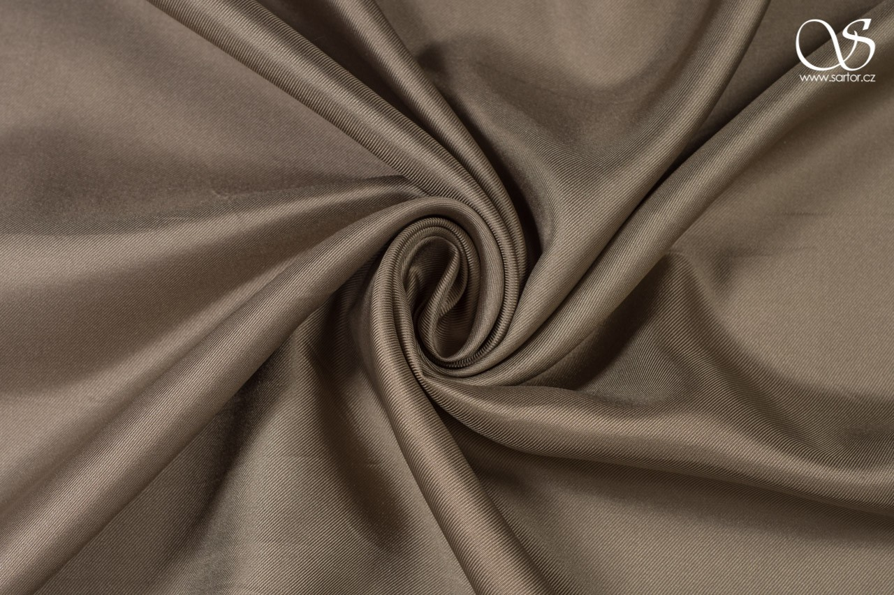 Twill, dark beige, DEFECTS