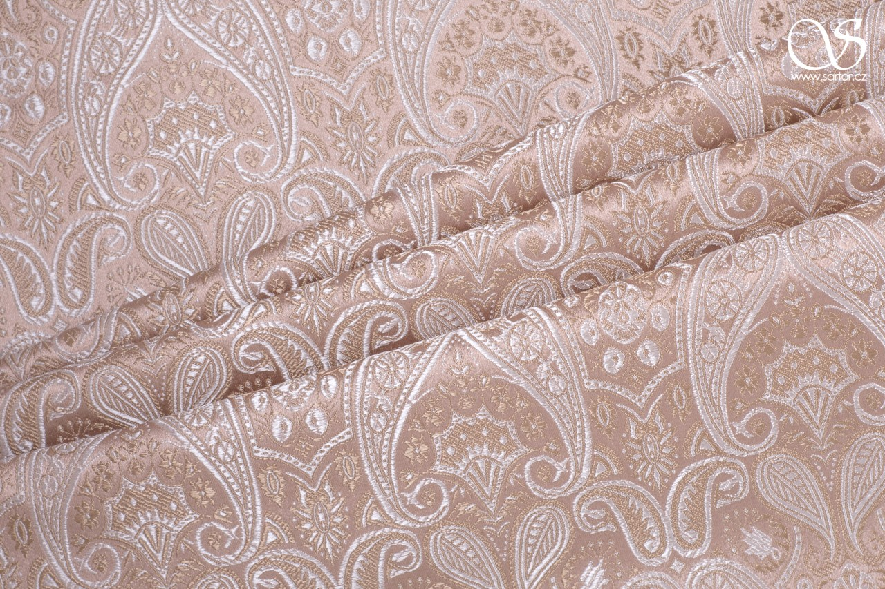 Brocade of the Duke, powder pink