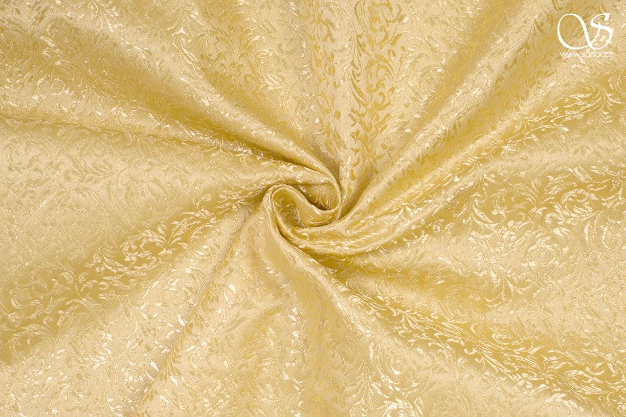 Brocade Ornaments, gold