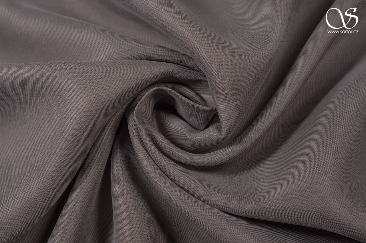 Cupro, grey-brown, 0,65m