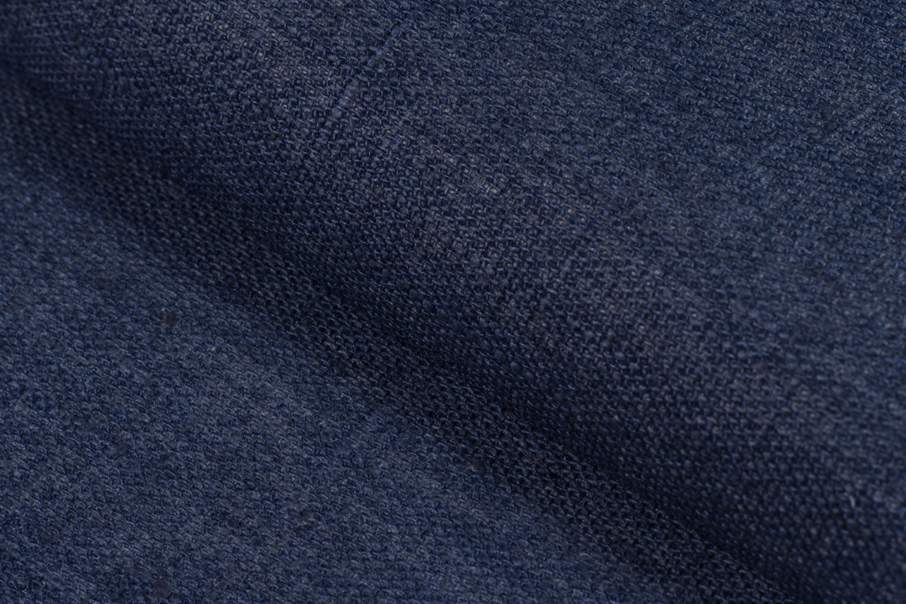 Waterproof linen, dark blue