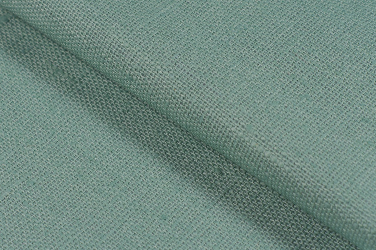 Waterproof linen, light green