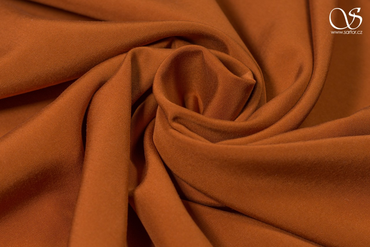 Tencel dress fabric, cinnamon