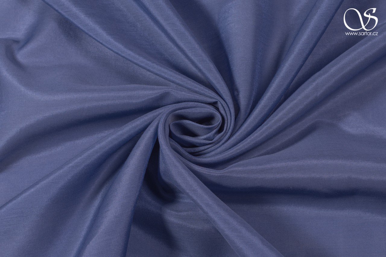 Voile, grey-blue