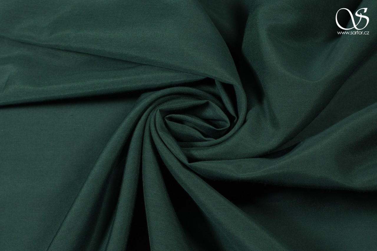 Voile, dark green