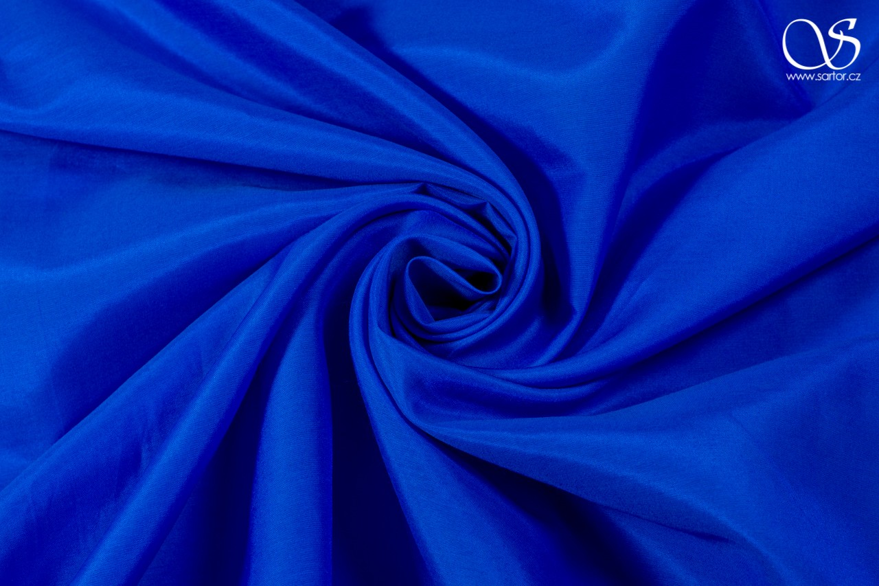 Voile, bright blue