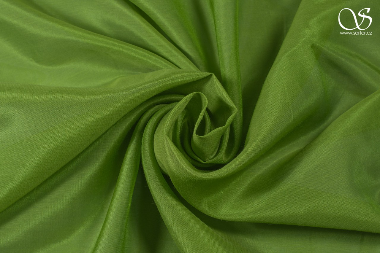 Voile, pea green