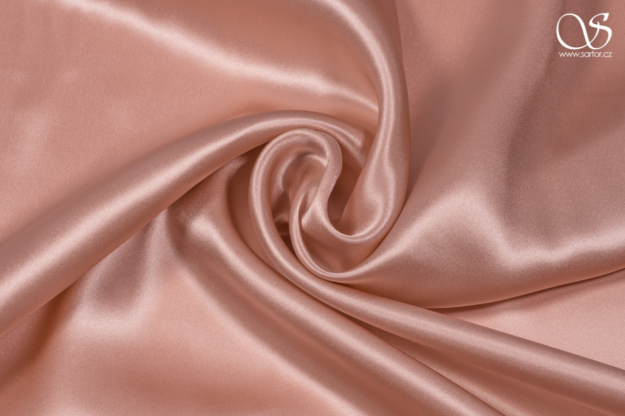 Satin, antique pink