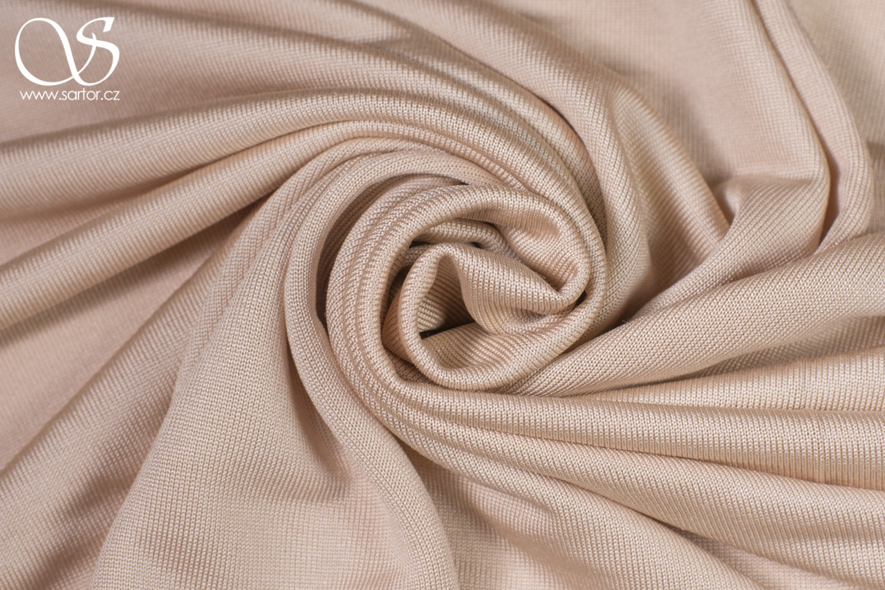 Silk Jersey, Nude, 0,85m, DEFECTS