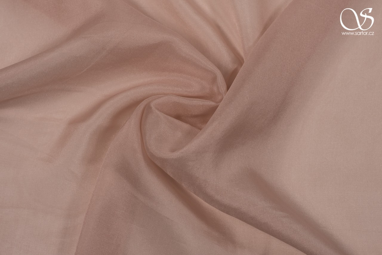 Chiffon, antique pink